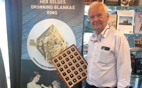 Knut Børge Knutsen fra Nøtterøy har jobbet med ring-prosjektet.
