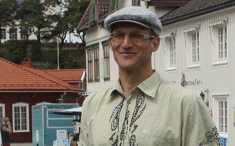Torbjørn Huru er kommunens mann i informasjonsmøtet.
