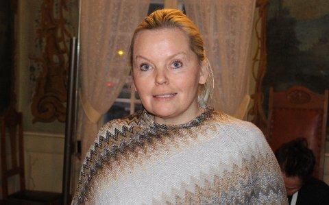 STYRELEDER: Tone Bente Bergene Holm er styreleder i Brevik Historielag og er ikke på valg på årsmøtet i år, hun sitter i vervet ett år til. Hun karakteriseres som en drivende dyktig leder og strateg i historielaget.