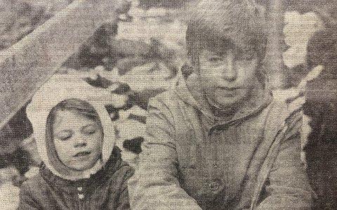 HESTEKLOVA: Søsknene Inger Marie og Tor Erling Etland er blant de som hyppig besøker Hesteklova.