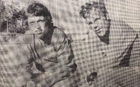SCORET: Breviks scorere Roy Edvardsen og Tom Gundersrud.