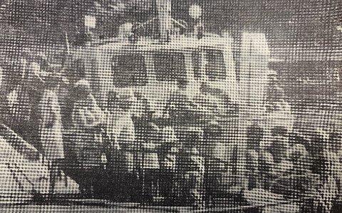 MANGE TURISTER: Fjordbussene hadde en travel dag.