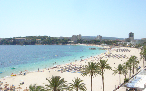 Mallorca er et populært reisemål. Foto: Wikimedia Commons
