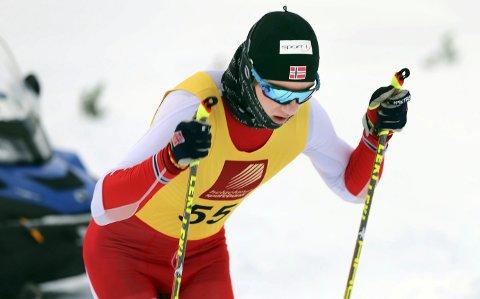VISER STYRKE: Preben Horven, B&Y IL, reiste fornøyd hjem fra treningsleiren i Bruksvallarna i Sverige. Bjerkaværingen viser at han matcher de beste både i Norge og Sverige  i sin klasse i langrenn.