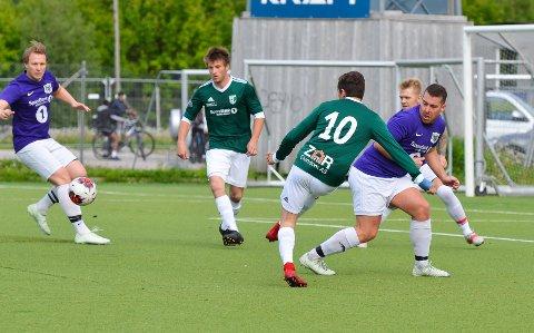 I sommer vant Silkefot 2-1 mot Gruben, men onsdag kveld fikk Gruben en skikkelig revansje.