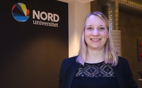 Marit Breivik-Meyer (32) skrev en doktoravhandling om hvordan inkubatorer virker. Hun er den femte som har gjennomført en disputas ved Campus Helgeland Handelshøyskolen Nord Universitet.