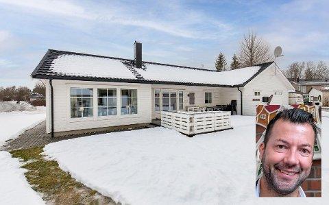 Eiendomsmegler Tomi Christian Johansen i Aktiv eiendomsmegling skal selge det som er det høyest verdsatte huset i Korgen.
