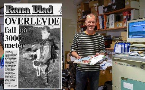 Mange kjenner Stig Sivertsen fra Fotohuset Elitefoto i Amfi i Mo i Rana sentrum. Men han er også en ivrig fallskjermhopper, og ble ikke satt ut av et dramatisk fall i 1996 der han mirakuløst overlevde.