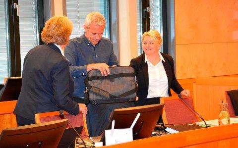 Lagmannsretten: Janne-saken er i gang igjen i rettsapparatet. Fra venstre bistandsadvokat Inger Johanne Reiestad Hansen, politibetjent Trond Blikstad og aktor Iris Storås.