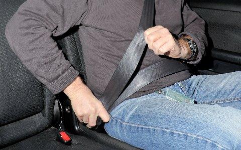 Nå kan det bli dyrt for deg å ikke bruke bilbelte i buss, der dette er montert. (Illustrasjonsfoto: Knut Opeide)