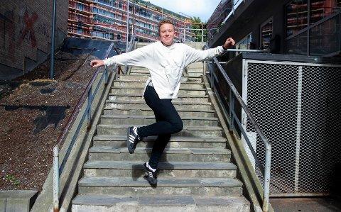 Ola Edvard Eriksrud Gamkinn står i september klar på folketeateret i Oslo, i oppsetningen Les Misérables.