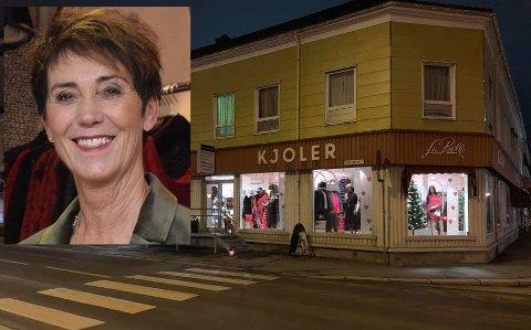 FLYTTER: LaBelle skal flytte til Søndre torg og innehaver Judith F. Karlsrud gleder seg.