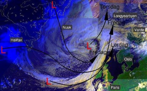 Meteorologene melder om mer usikkert vær.