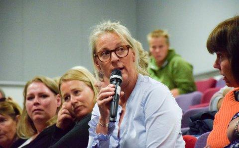 IKKE IMOT: - Jeg er ikke imot Hønefoss skole, men for at de andre skolene skal ha gode vilkår, sa rektor Siri Strømmen.