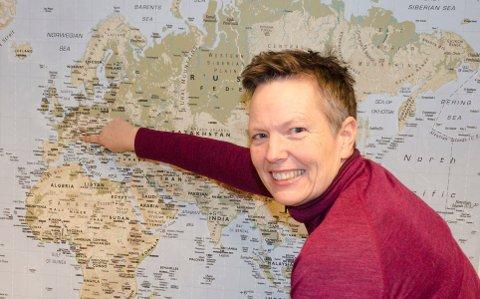 GLEDER SEG: Tove Irene Kristensen reiser til Italia på søndag, og gleder seg. Hun er ikke bekymret for å reise i disse Korona-tider.
