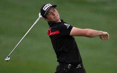 Miklagard-golferen Viktor Hovland tok søndag sin første tittel på PGA-touren.
