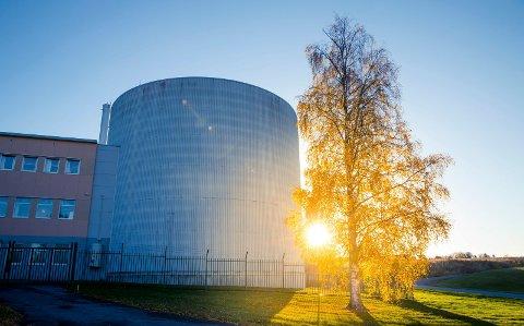 NEDLAGT: Ifes atomreaktor ble besluttet lagt ned i 2019, og funnene som nå er gjort i Nitelva stammer trolig fra utslipp i perioden 1960 til 1990, mener IFE.