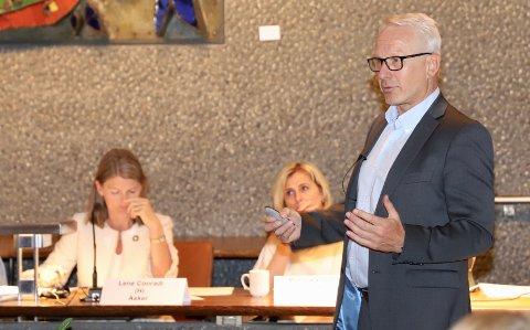 MAKT: - Nye Asker ønsker å bruke sin markedsmakt, sier prosjektrådmann Lars Bjerke.
