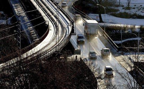 BRA LUFT: Svevestøv-verdiene i Sarpsborg er ikke for høye nå, men forurensingen kan øke utover uka.