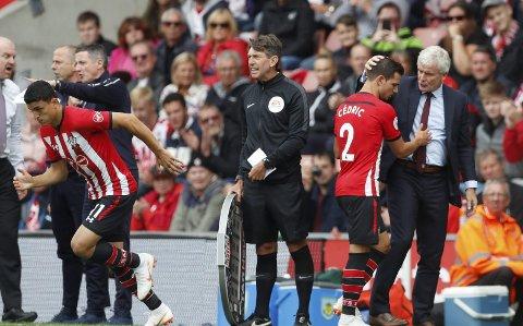 På vei bort: Mohamed Elyounoussi ser ut til å være på vei bort fra Southampton og at Besiktas blir hans nye klubb.
