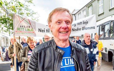 RETT LINJE: Per olaf Toftner er en av de største forkjemperne for rett linje.