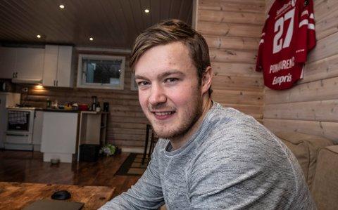 Maksims Ponomarenko var den eneste Stjernen-spilleren som slapp unna korona da hele troppen ble smittet tidligere i januar. Foto: Geir A. Carlsson