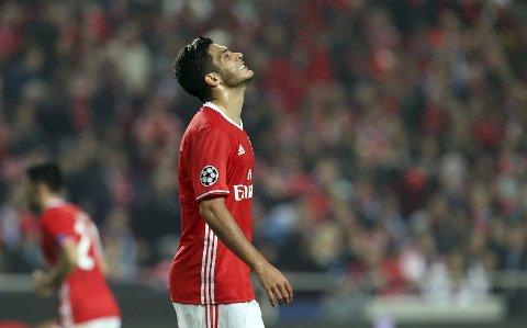 Benfica og Raul Jimenez har en tøff kamp mot Dortmund tirsdag kveld.