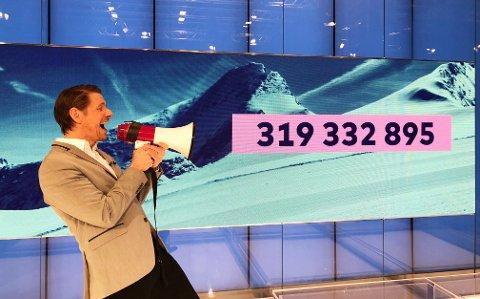 Millionjubel: 11. april blir en dato den norske VikingLotto-millionæren neppe kommer til å glemme.