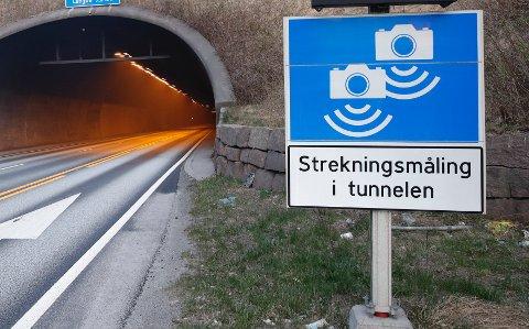 AKTUELT: Ryfast fikk ikke automatisk trafikkontroll (ATK) fra starten av. Nå har iallfall fartsglade bilførere sørget for at betingelsen om høy fart er innfridd. Her fra Oslofjordtunnelen. (Foto: Terje Bendiksby / NTB)