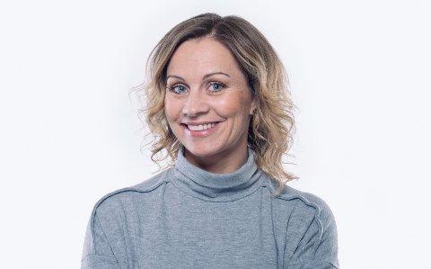 PROGRAMLEDER: Fredag debuterer Jannicke Irwin Abrahamsen som programleder.