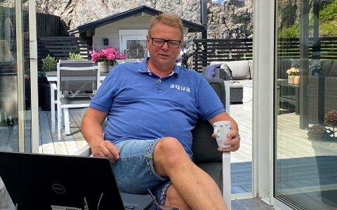 URO: Leder i Herøya Arbeiderforening og tillitsvalgt i Bilfinger, Tor-Morten Thorsen, forteller om vanskelig samarbeid med ledelsen i Bilfinger.