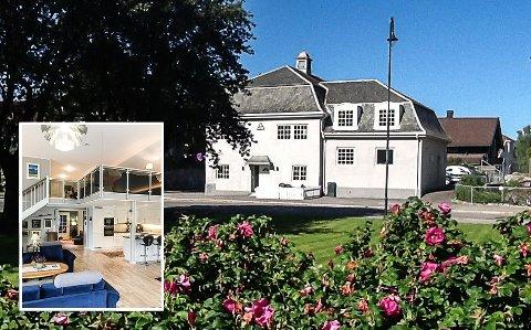 TIL SALGS: Villaveien 5 i Notodden ligger ute for salg. Her er fire moderne leiligheter.