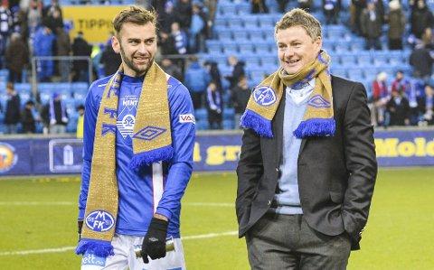Gullgutter: Magne Hoseth, Ole Gunnar Solskjær og Molde slo Rosenborg i cupfinalen i 2013.