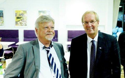 BER POLITIKERE TA ANSVAR: Bent Molvær og Petter Berg er ikke imponert over sine politikerkolleger fra Arbeiderpartiet.