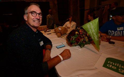 FORTSATT VED GODT MOT: 1. kandidat Harald Moskvil (MDG).