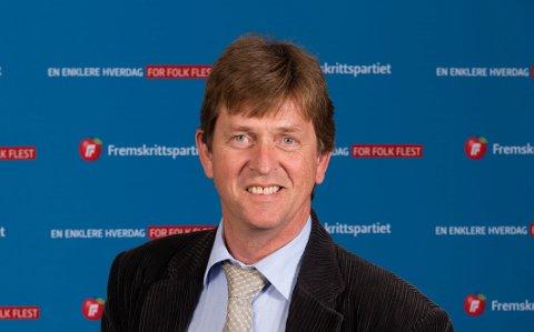 Listetopp: Gunnar Heiene er listetopp i Sør-Aurdal Frp.