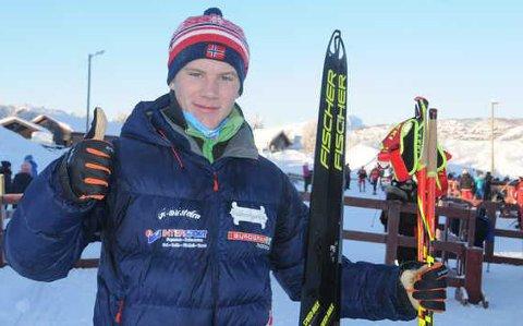 TIL UNGDOMS-OL: Vegard Thon skal delta i minst tre konkurranser under ungdoms-OL i Frankrike i løpet av den neste uka.
