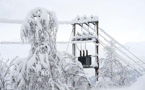 DYRT: Kulden i februar gjør det dyrt for deg å betale strøm. Foto: Marit Hommedal (NTB scanpix)