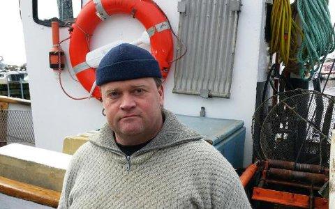 Slutt på fisket: Yrkesfisker Tore Aaslund fra Fagerstrand mister levebrødet dersom Fiskeridepartementets forslag vedtas.