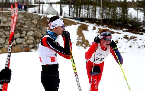 EN STAV: Her har Ørjan Moseng (t.v.) og Sivert Bekken to staver. Det hadde de ikke hele veien.