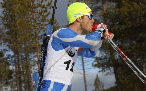 KUN SOM RESERVE: Kristoffer Langøien Skjelvik ble funnet for lett, selv etter gode IBU-løp. Nå er han første reserve i EM-troppen.