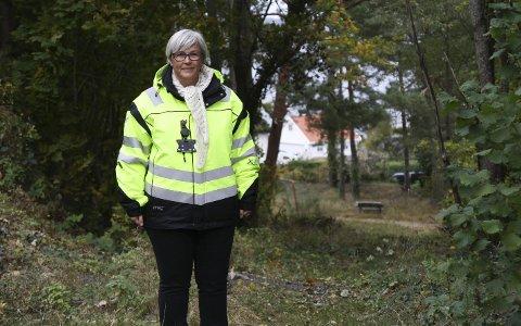 Omkjøring: Deler av veien vil bli ufremkommelig. Risør kommune jobber med å klargjøre stien over Dalen for trafikk slik at brannbil og ambulanse kommer frem,