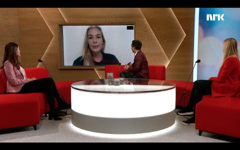 TIPS OG RÅD: Karen Elene Thorsen var innkalt som ekspert på NRK.
