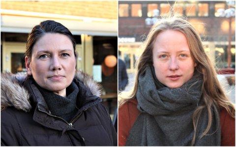 BOLIGKRISE: Agnes Nærland Viljugrein (Ap) og Heide Nordby Lunde (H) mener Oslo er i en boligkrise, men de strides om løsningen.