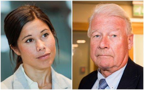 REAGERTE PÅ CARL I. HAGEN-INNLEGG: Lan Marie Berg er sterkt kritisk til Carl I. Hagens utspill.