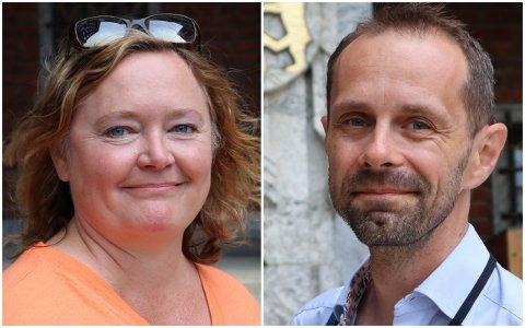 ENIGE OM Å FORESLÅ KRISEPAKKE: Høyres Anne Haabeth Rygg og Venstres Hallstein Bjercke.