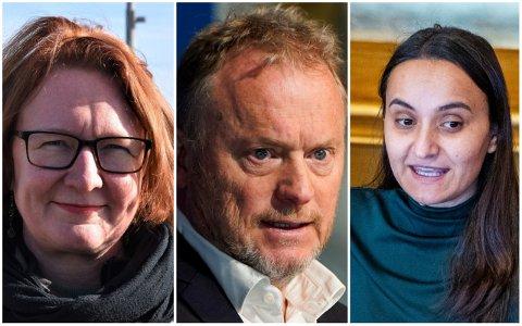 KREVER SVAR: Bjørg Sandkjær (Sp) og Rødts Seher Aydar har spørsmål de vil ha svar på i Ullevål-saken.