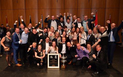 SIDDIS-SIGER FOR 18. GONG?: Eikanger Bjørsvik Musikklag har vunne dei to siste Siddis Brass-konkurransane, og med 17 triumfar er korpset det suverent mestvinnande i denne underhaldningskonkurransen for brass.