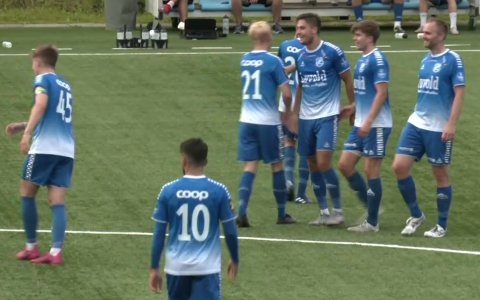 Junkeren kunne juble etter en pangstart i årets 3. divisjon.