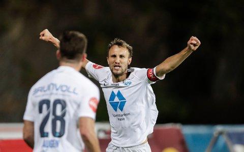Magnus Wolff Eikrem er i siget, og vi tror de vinner mot Brann på Stadion i kveld.  Foto: Vidar Ruud / NTB scanpix